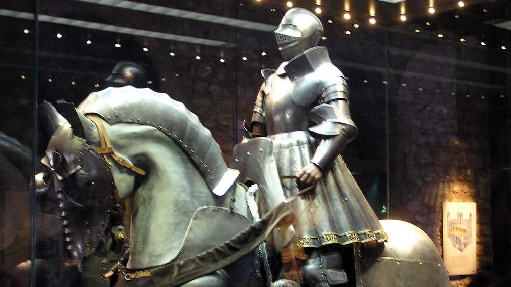 Armadura a caballo
