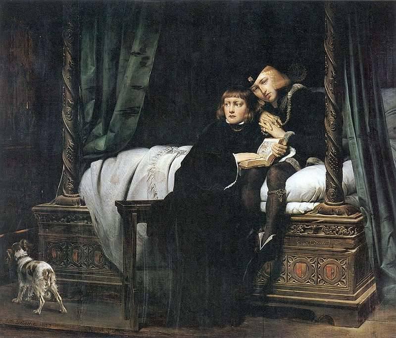 Edouard V y su hermano